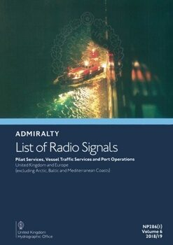 Адмиралтейский список радиосигналов / Admiralty list of radio signals. Vol 6. NP286(3) (ALRS)